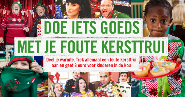 Foute Kersttrui Dag.Ugly Christmas Sweater Day Jungle Town